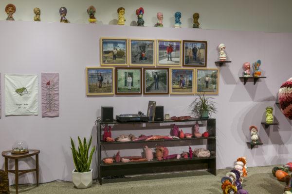 Installation View - photo, Steve Farmer