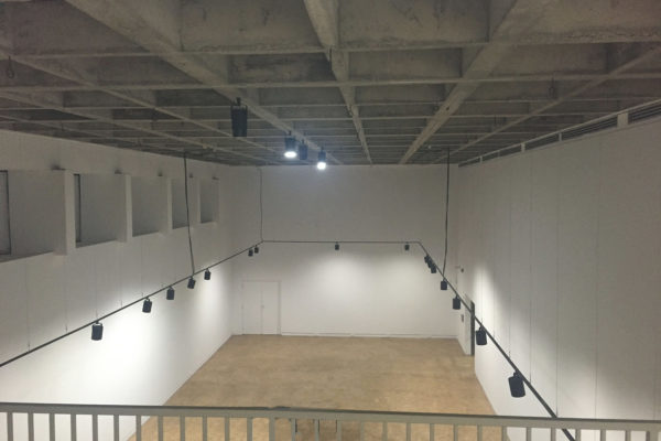 Gallery Mezzanine - view to main gallery