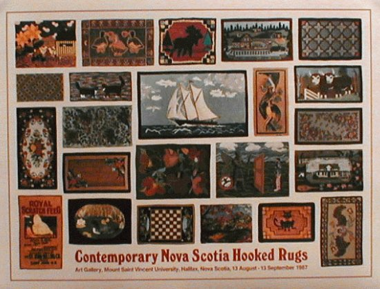Contemporary Nova Scotia Hooked Rugs (1987)