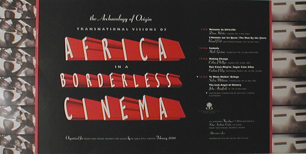 The Archaeology of Origin: Transnational Visions of Africa in a Borderless Cinema, 2000