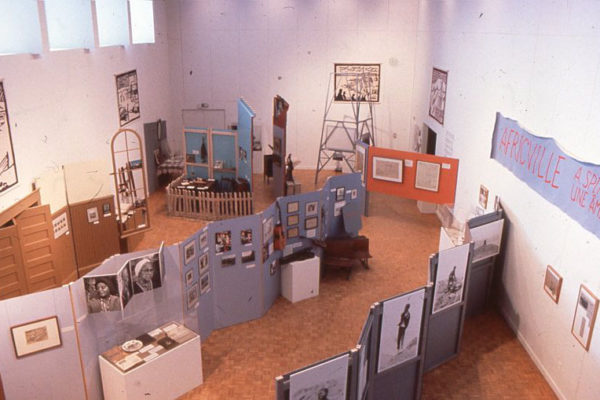 Africville: A Spirit that Lives On installation view (1989).