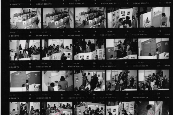 Africville: A Spirit that Lives On documentation contact sheet (1989).