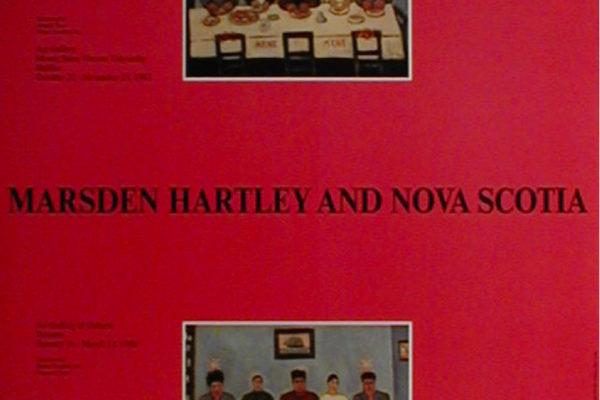 Marsden Hartley and Nova Scotia, 1987 Exhibition Poster (1987)