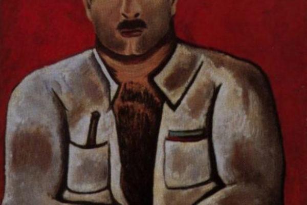 Marsden Hartley. Adelard the Drowned, Master of the Phantom 1938-39. Oil on board, 28 x 22 in. University Art Museum, University of Minnesota, Minneapolis. (1938-1939)