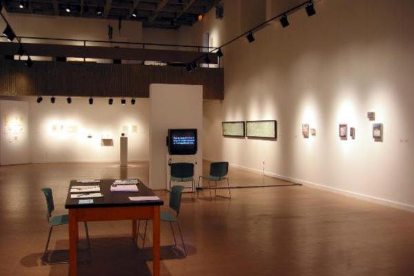 Beyond Words. Installation view #2, MSVU Art Gallery (2003)