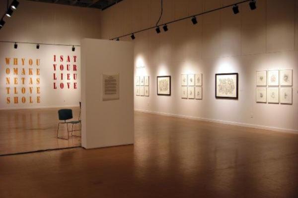 Beyond Words. Installation view #3, MSVU Art Gallery (2003)