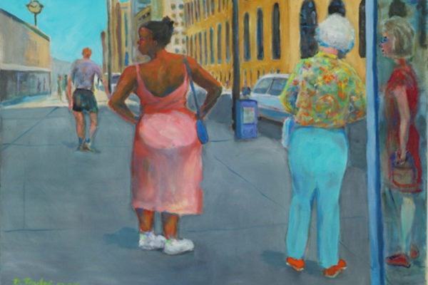 Doug Taylor, Michigan Ave., Chicago 2006 oil on canvas, 50.8 x 71.12cm (2006)