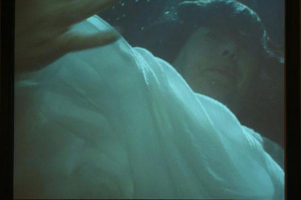 Glynis Humphrey Breathing Under Water installation (detail) Photo- Steve Farmer (2006)