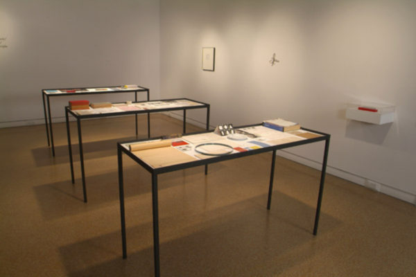 Installation View- Micah Lexier- To Be Sorted, MSVU Art Gallery Photo #2- Steve Farmer (2006)