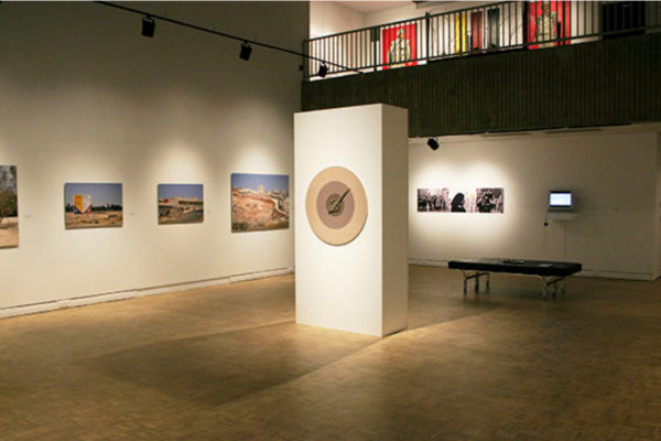Installation view #1, Terms of Engagement- Averns, feldman-kiss, Stimson (2014)