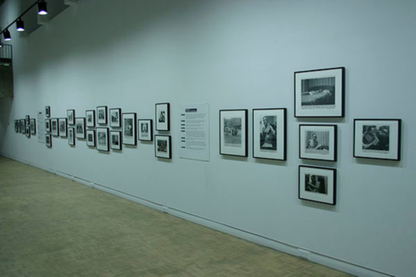 "Installation view #3- ""We are continually exposed to the flashbulb of death""- The Photographs of Allen Ginsberg (2015)"