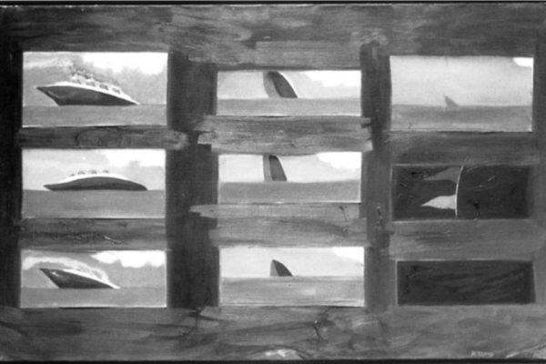 Joyce Wieland. Sinking Liner (1963)