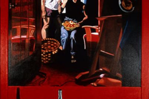 Julie Duschenes. Story #3. Oil on canvas, 150 x 129 cm (1998-2000)