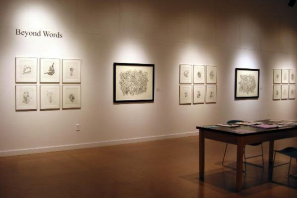 Kelly Mark. Installation view...courtesy of Wynick:Tuck Gallery (2001)