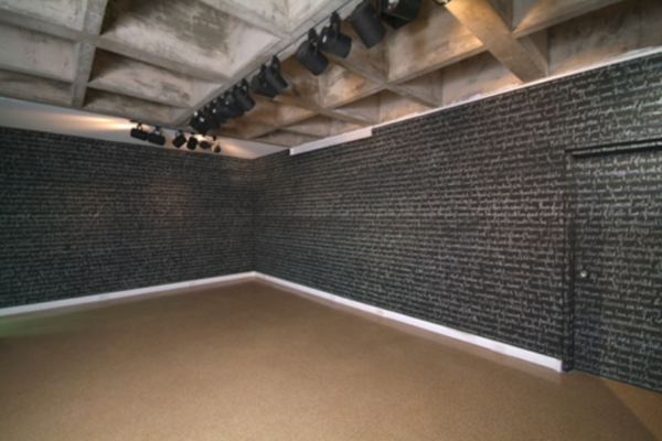 Michael Fernandes Room of Fears Installation (detail). MSVU Art Gallery. Photo #3- Steve Farmer