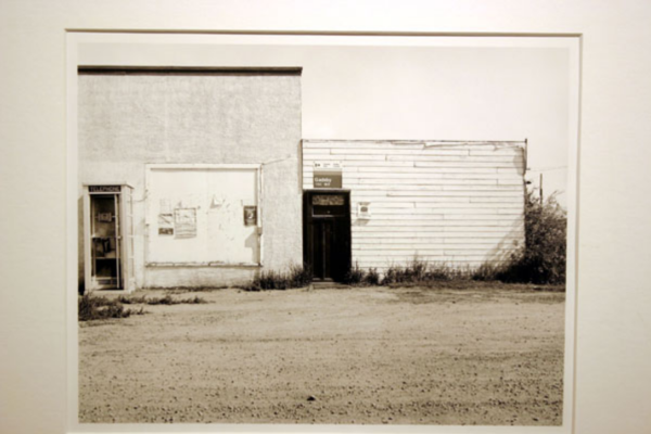 Orest Semchishen Post Office, Gadsby AB. Silver gelatin print (1978)