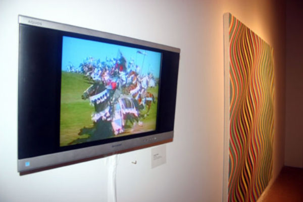 Pulse- Film and Painting After the Image Installation View #7 MSVU Art Gallery (2006)