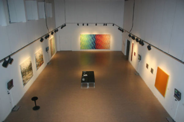 Pulse- Film and Painting After the Image Installation View MSVU Art Gallery #1 (2006)