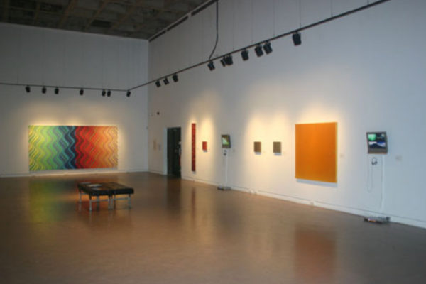 Pulse- Film and Painting After the Image Installation View MSVU Art Gallery #2 (2006)