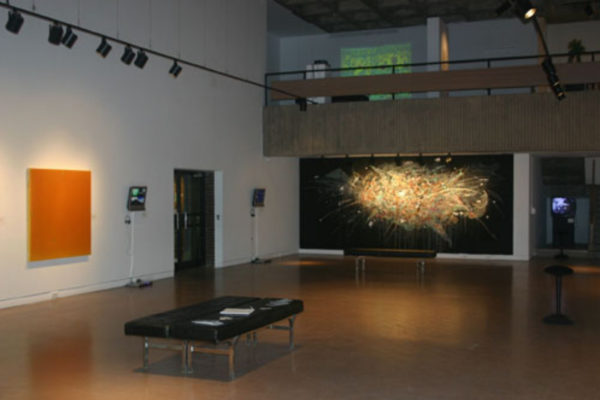 Pulse- Film and Painting After the Image Installation View MSVU Art Gallery (2006)