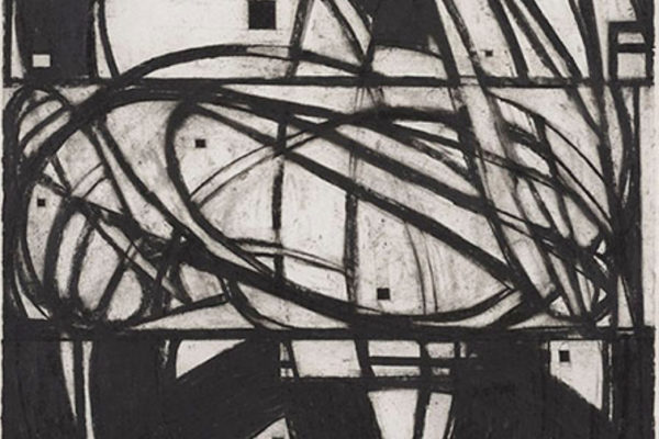 Ron Shuebrook Provincetown Drawing #3 2008 charcoal on rag paper 76 x 57 cm (2008)