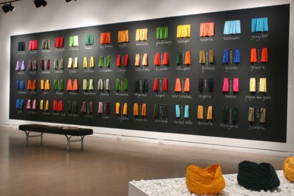 Sarindar Dhaliwal- Record Keeping Installation View, MSVU Art Gallery (2006)