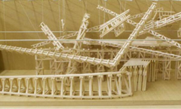 Steve Higgins, Maquette for MSVU Sculpture (2013)