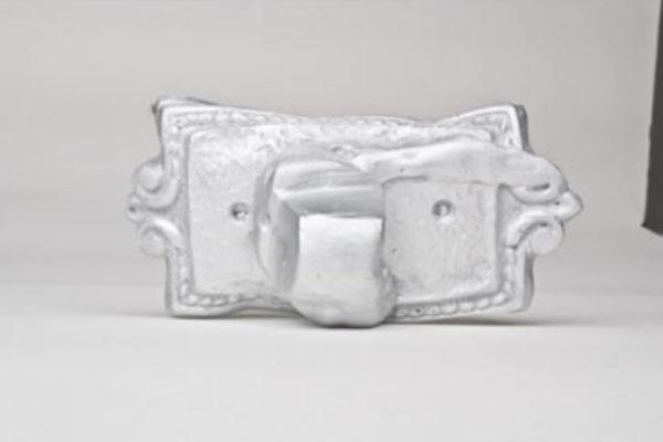 Suzanne Caines Untitled souvenir 2008 (unique sculptures presented to interlocutors) cast plaster with spray paint, maximum dimension 14 cm #4 (2008)