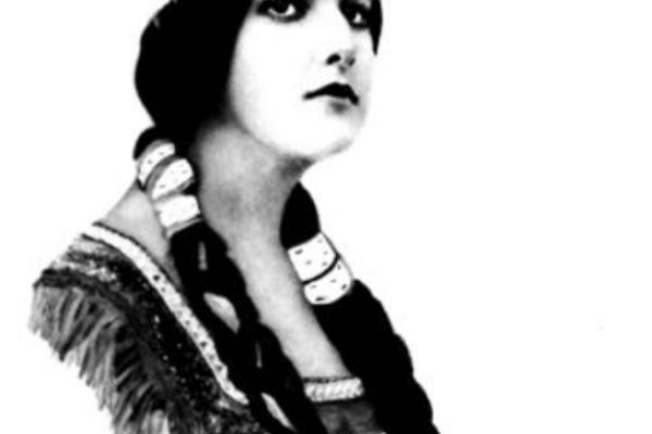 Unknown artist. Indian Princess, dimensions unknown (ca. 1920s)