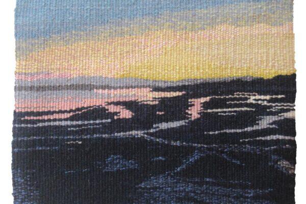 Elaine Duncan, Arising Dawn. Tapestry Weaving.