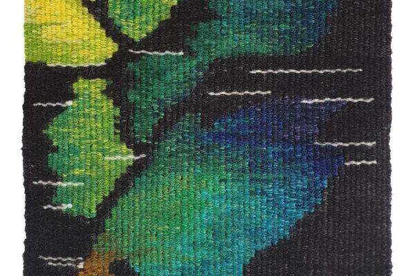 Heidi Flaxman, Camptonite, Copinsay, Orkney Islands. Tapestry Weaving.