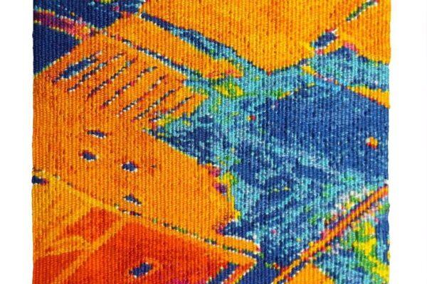 Jane Freear-Wyld, Birds Eye View Series: Pathways 2. Tapestry Weaving.