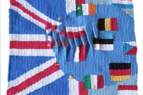 Janet Clark, Agree/Disagree. Tapestry Weaving.