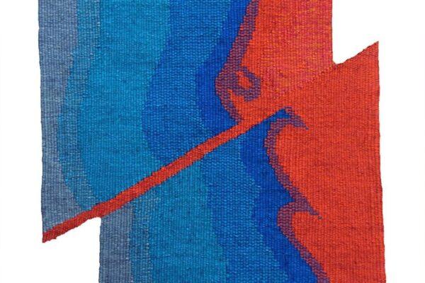 Lindsay Marshall, Nexus. Tapestry Weaving.