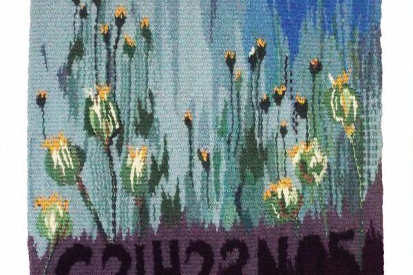 Madeleine Darling, Tung, C21H23N05. Tapestry Weaving.