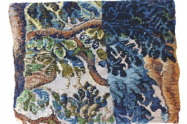 Ruth Jones, Hidden Repair. Tapestry Weaving.